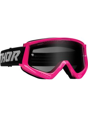 Thor Combat Racer Sand Flo Pink / Gray Goggles