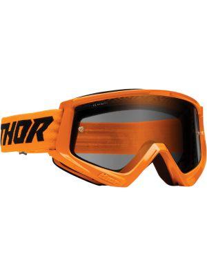 Thor Combat Racer Sand Flo Orange / Black Goggles