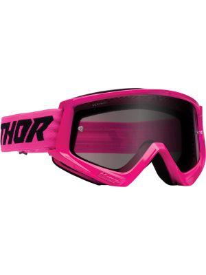 Thor Combat Racer Sand Flo Pink / Black Goggles