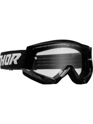 Thor Combat Racer Goggles Black / White