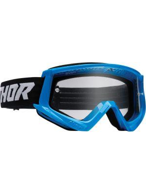 Thor Combat Racer Goggles Blue / Black