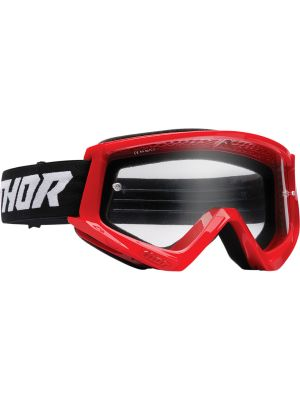 Thor Combat Racer Goggles Red / Black