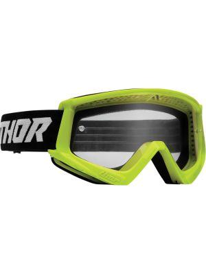 Thor Combat Racer Goggles Acid / Black