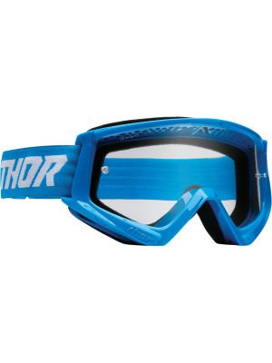 Thor Combat Racer Goggles Blue / White