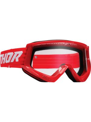 Thor Combat Racer Goggles Red / White