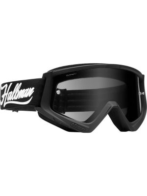 Hallman Combat Racer Goggles Black