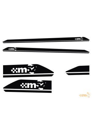 m52 Dynamic Side Splash - Golf GTi / R Mk7 and Mk7.5