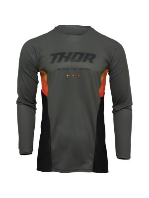 Thor Pulse React Army / Black Jersey