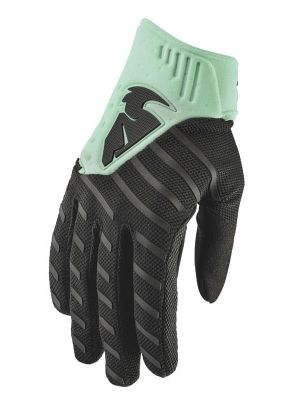 Rebound Gloves - Black / Mint