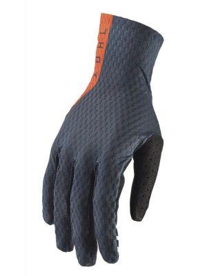 Thor 2019 Agile Gloves - Midnight / Orange