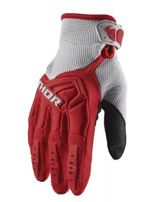 Spectrum Gloves - Red / Grey