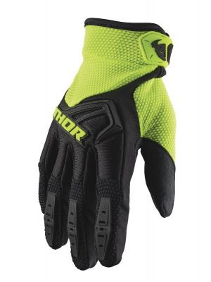 Spectrum Gloves - Black / Acid