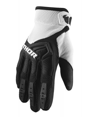 Spectrum Gloves - Black / White