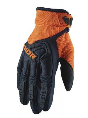 Spectrum Gloves - Midnight / Orange