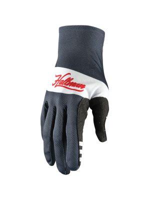 Hallman Mainstay Gloves - Midnight / White
