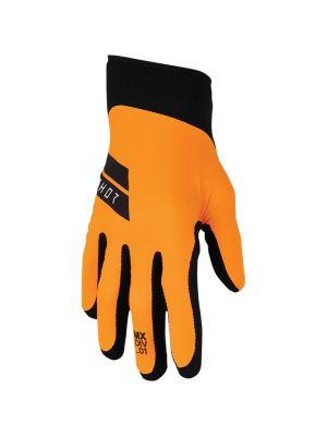 Thor Agile Flo Gloves Orange / Black