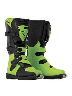 Thor Blitz CE Black / Green Boots