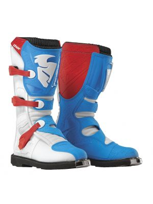 Thor Blitz CE Red / Blue Boots