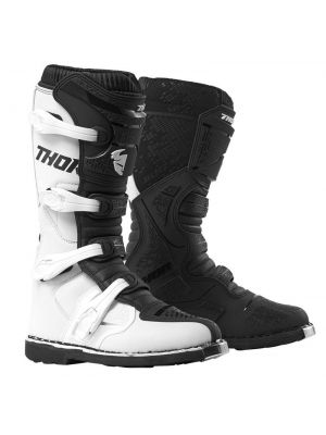 Thor Boot Blitz XP White/Black