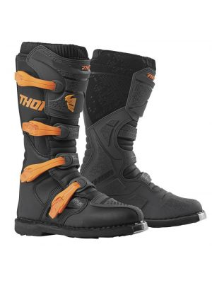 Thor Blitz XP Boots - Char /  Orange