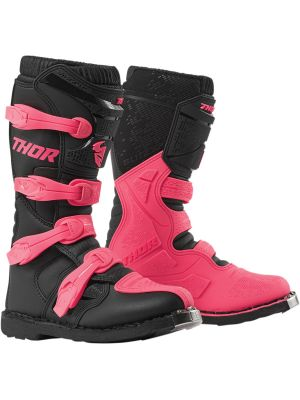Thor Boot Blitz XP Black/Pink - Womens
