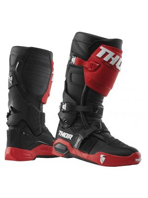 Thor Radial Boots - Red / Black