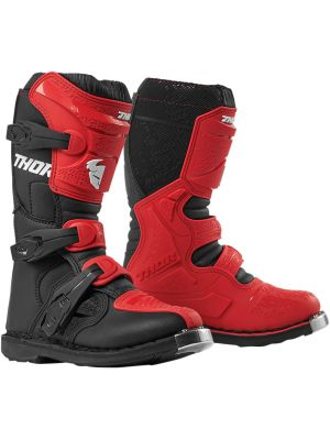 Thor Youth Blitz XP Red/Black Boots