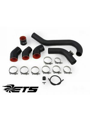 ETS Intercooler Piping Wrinkle Black - Ford Focus RS Mk3
