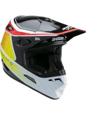 Answer 2022 AR-1 Helmet Vivid Red/White/Hyper Acid