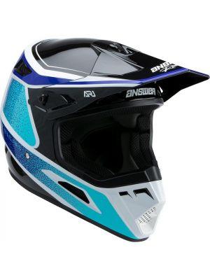 Answer 2022 AR-1 Helmet Vivid Reflex/Astana Blue