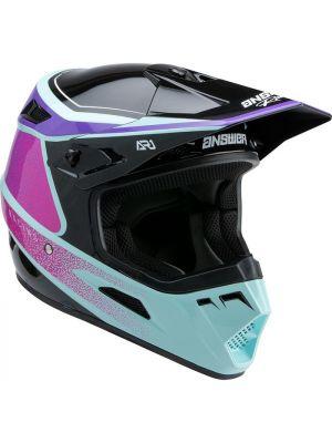 Answer 2022 AR-1 Helmet Vivid Purple/Rhodamine Seafoam
