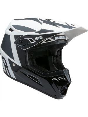 Answer 2022 AR-3 Helmet Phantom Black/White