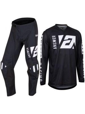 Answer 2022 Syncron Youth Pants Merge Black/White