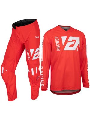 Answer 2022 Syncron Youth Jersey Merge Red/White