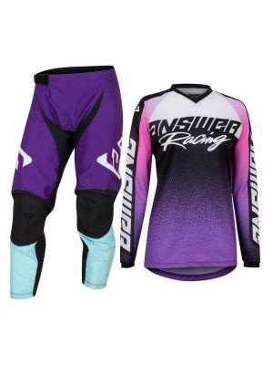Answer 2022 Syncron Prism Jersey Women's Purple/Rhodamine Seafoam