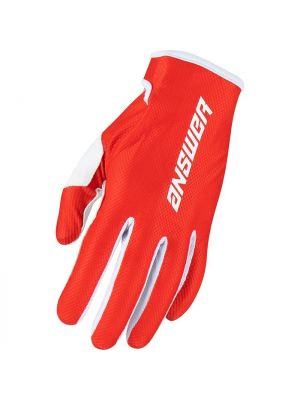 Answer 2022 Glove Ascent Red/White