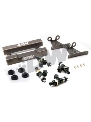 Deatschwerks Side Feed To Top Feed Kit w/ 1500cc Injectors - Subaru V5-6 WRX MY99-00 / STI V5-6 MY99-00