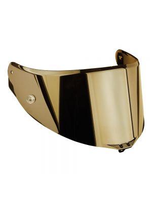AGV Visor Scratch Resistant Race 3 MPLK Iridium Gold