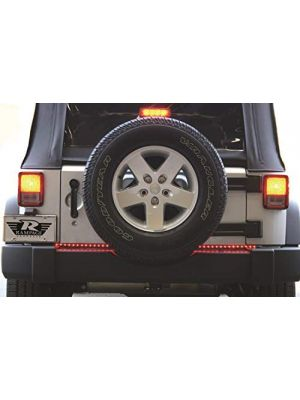 Rampage Products Universal 60 In. LED Tailgate Light Bar, Black