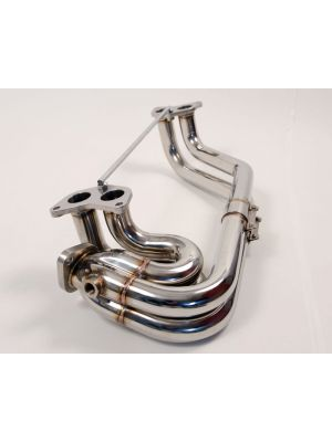Agency Power Stainless Steel Header - Subaru WRX 02-14 | STI 02-16