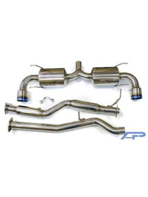 AP Titanium Coloured Catback Exhaust - Mazda RX8 MY08-12