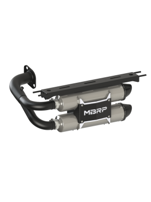 MBRP Dual Slip-On Exhaust System with Performance Muffler - Honda Talon 1000R