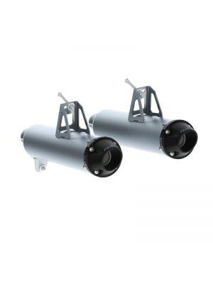 MBRP Dual Slip-On Mufflers - Can-Am Maverick 1000 Turbo MY15-16  / Can-Am Maverick 1000 MY13-16