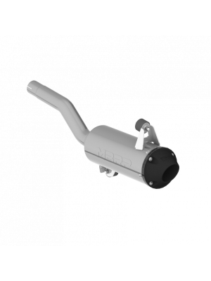MBRP 5in. Single Slip-On Perf. Series Exhaust - Can-Am Outlander (Incl. Max) 500/650/800/1000 MY13-21