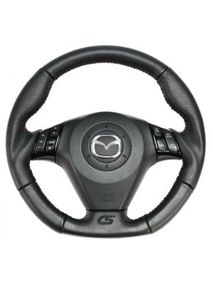 CorkSport Steering Wheel - Mazda 3 MPS BK MY07-09