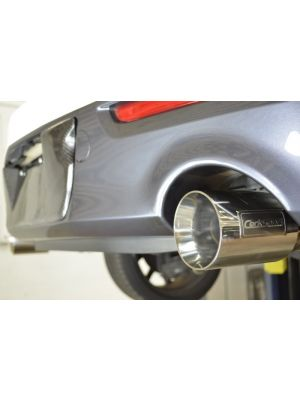 CorkSport Turbo Back Exhaust System - Mazda 3 MPS BL MY10-13