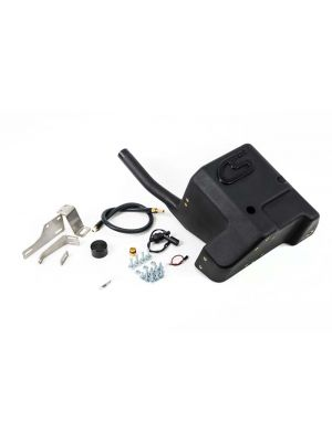 CorkSport Fender Mounted Auxiliary Fuel Cell - Mazda 3 MPS