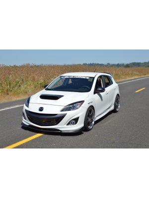 CorkSport Front Lip - Mazda 3 MPS BL MY10-13