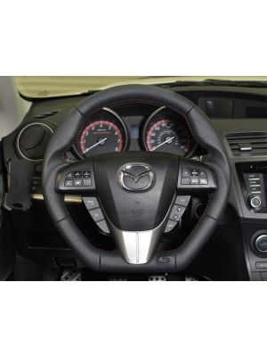 CorkSport Leather Steering Wheel - Mazda 3 MPS BL MY10-13