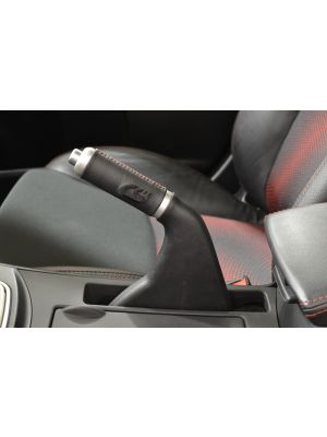 Corksport Leather Handbrake Handle - Mazda 3 MPs BL MY10-13 / Mazda 3 MY10-13